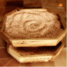 Гималайская розовая соль 2-5 мм для сауны