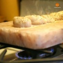 Солевая плитка 200х100х25 для жарки