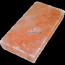 Соляная плитка для бани 200х100х25 мм шлифованная