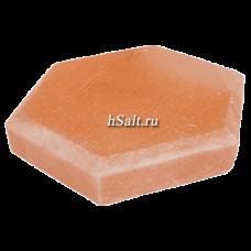 Соляная плитка шестигранник 140х25 с фаской