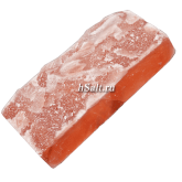 Соляной кирпич 200х100х50 натуральный для сауны