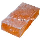 Соляной кирпич 200х100х50 шлифованный для бани