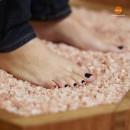 Гималайская розовая соль 10-20 мм для бани
